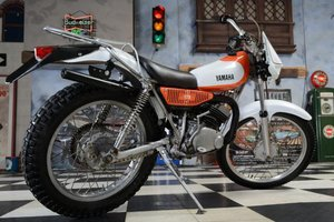 1976 Yamaha Dirt Bike Dirt Bike