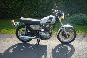 Yamaha xs650 UK model