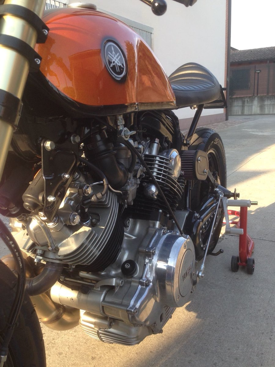 1983 yamaha XV 750 cafe racer For Sale (picture 6 of 6)