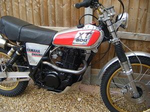 Yamaha XT500 C