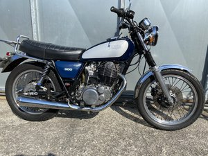 1979 YAMAHA SR 500 RIDE OR EASY RESTORATION OFFERS PX XT 250