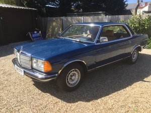 Picture of 1983 Merc 230 CE (C123)Manual LHD auction 28th-29th April For Sale by Auction