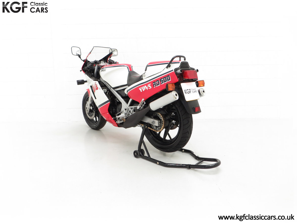 1985 A Legendary UK Matching Numbers Yamaha RD500LC For Sale (picture 8 of 24)