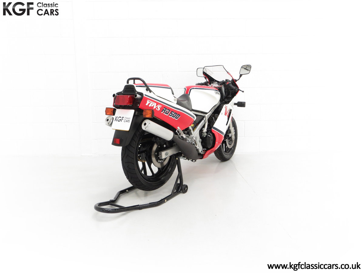 1985 A Legendary UK Matching Numbers Yamaha RD500LC For Sale (picture 13 of 24)
