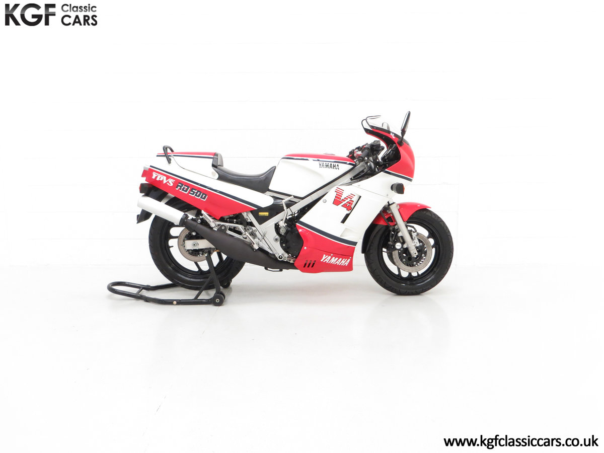 1985 A Legendary UK Matching Numbers Yamaha RD500LC For Sale (picture 14 of 24)