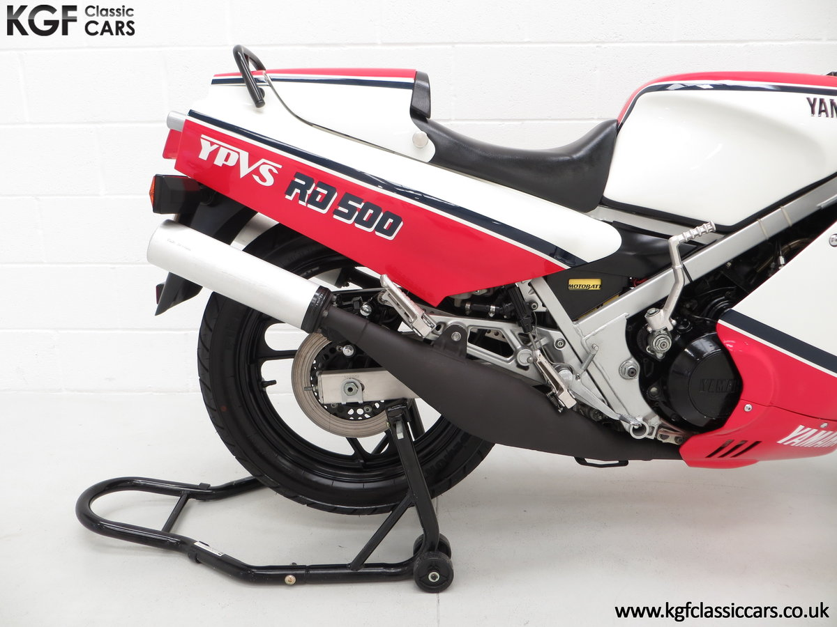 1985 A Legendary UK Matching Numbers Yamaha RD500LC For Sale (picture 16 of 24)