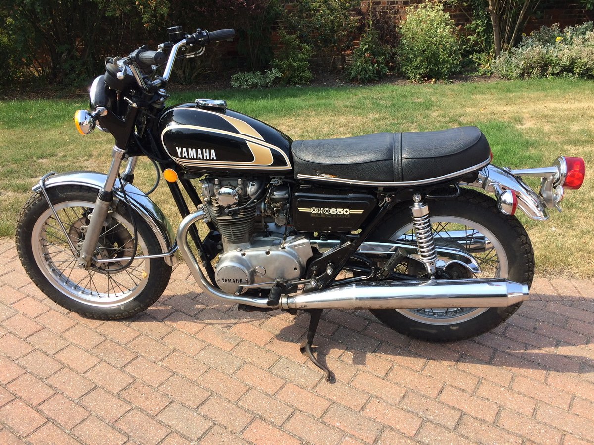 1975 Yamaha XS650B Possible P/Ex. SOLD (picture 2 of 5)