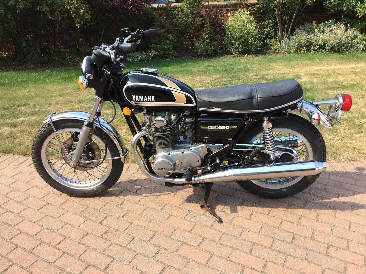 1975 Yamaha XS650B Possible P/Ex. SOLD (picture 4 of 5)