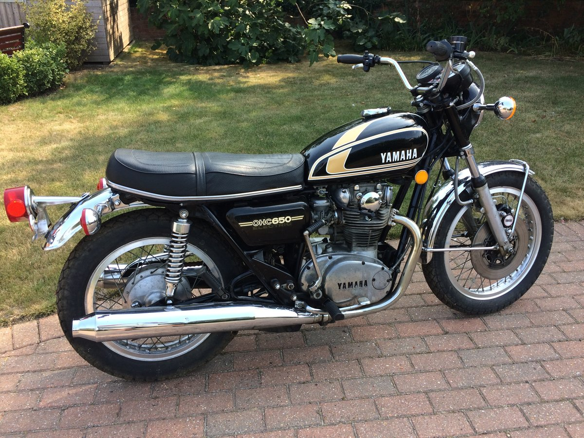 1975 Yamaha XS650B Possible P/Ex. SOLD (picture 5 of 5)