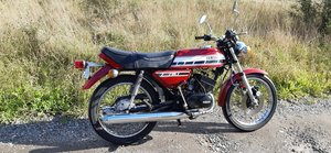 Yamaha RD125C survivor bike