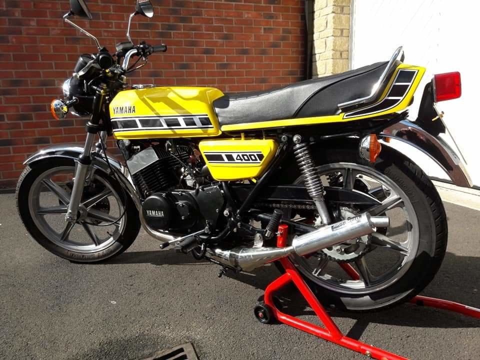 1977 Yamaha RD400 D UK spec  For Sale (picture 1 of 4)
