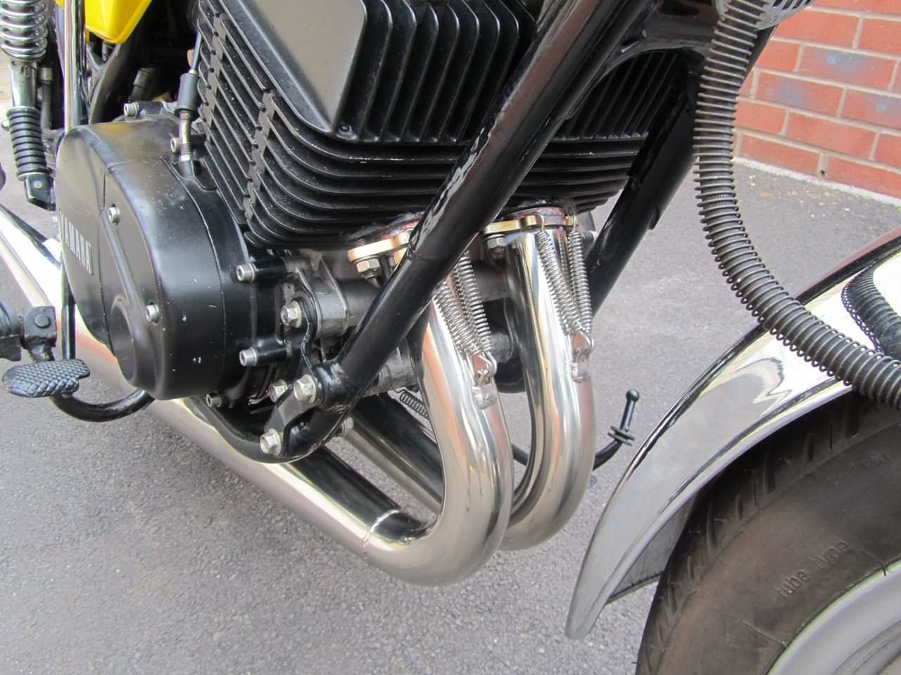 1977 Yamaha RD400 D UK spec  For Sale (picture 3 of 4)