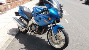 Yamaha SZR660 Super Single