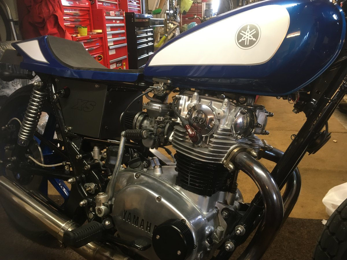 1978 YAMAHA XS650 FLAT TRACKER For Sale (picture 5 of 5)