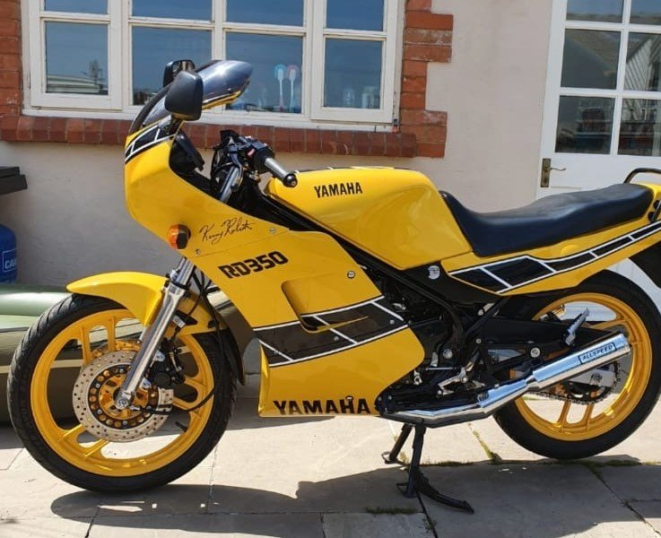 Lot 152 - A 1992 Yamaha RD 350 F2 - 28/10/2020 SOLD by Auction (picture 1 of 6)
