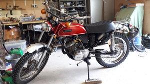 Yamaha at1 125 twin shock enduro
