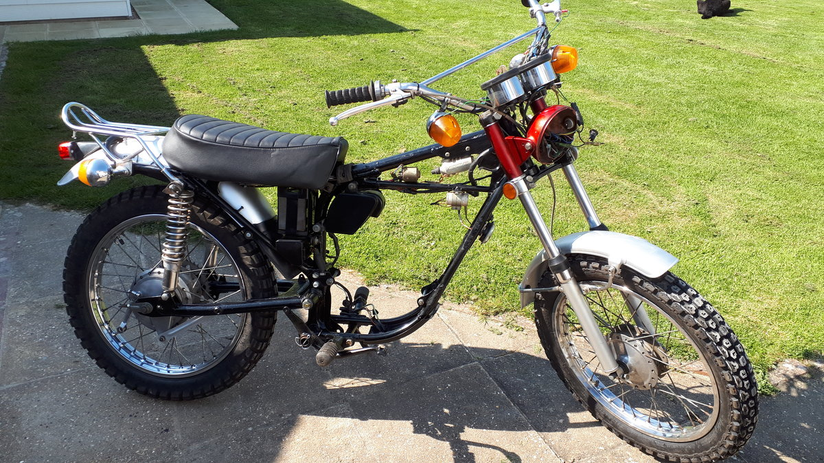 1970 Yamaha at1 125 twin shock enduro For Sale (picture 4 of 4)