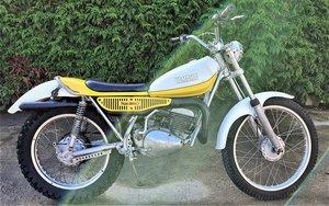 1974 Yamaha TY250, 250cc.