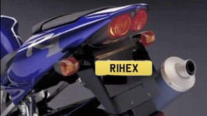 Picture of 1998 R1HEX Cherished Reg, Bargain/Ideal 'R1' private number plate For Sale