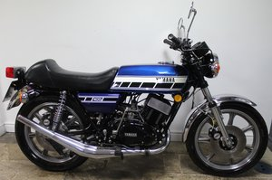 Picture of 1978 Yamaha RD 400 C Matching engine and frame numbers