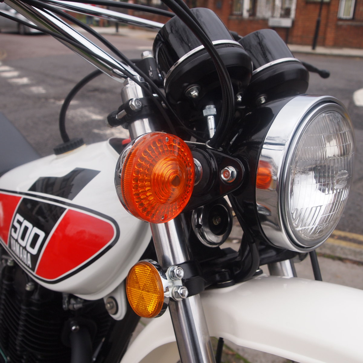 1976 Yamaha XT500 C Enduro, Rare Early Exhaust Model, SOLD. SOLD (picture 5 of 6)