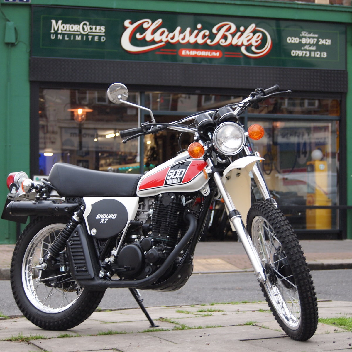 1976 Yamaha XT500 C Enduro, Rare Early Exhaust Model, SOLD. SOLD (picture 1 of 6)