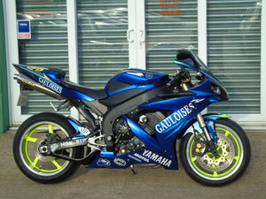 Yamaha YZF R1 Rossi Rep Only 14,700 Milles, Service History