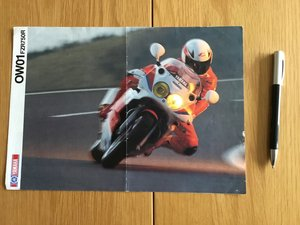 Picture of 1989 Yamaha OW01 brochure SOLD