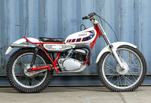 Yamaha TY250 Trials