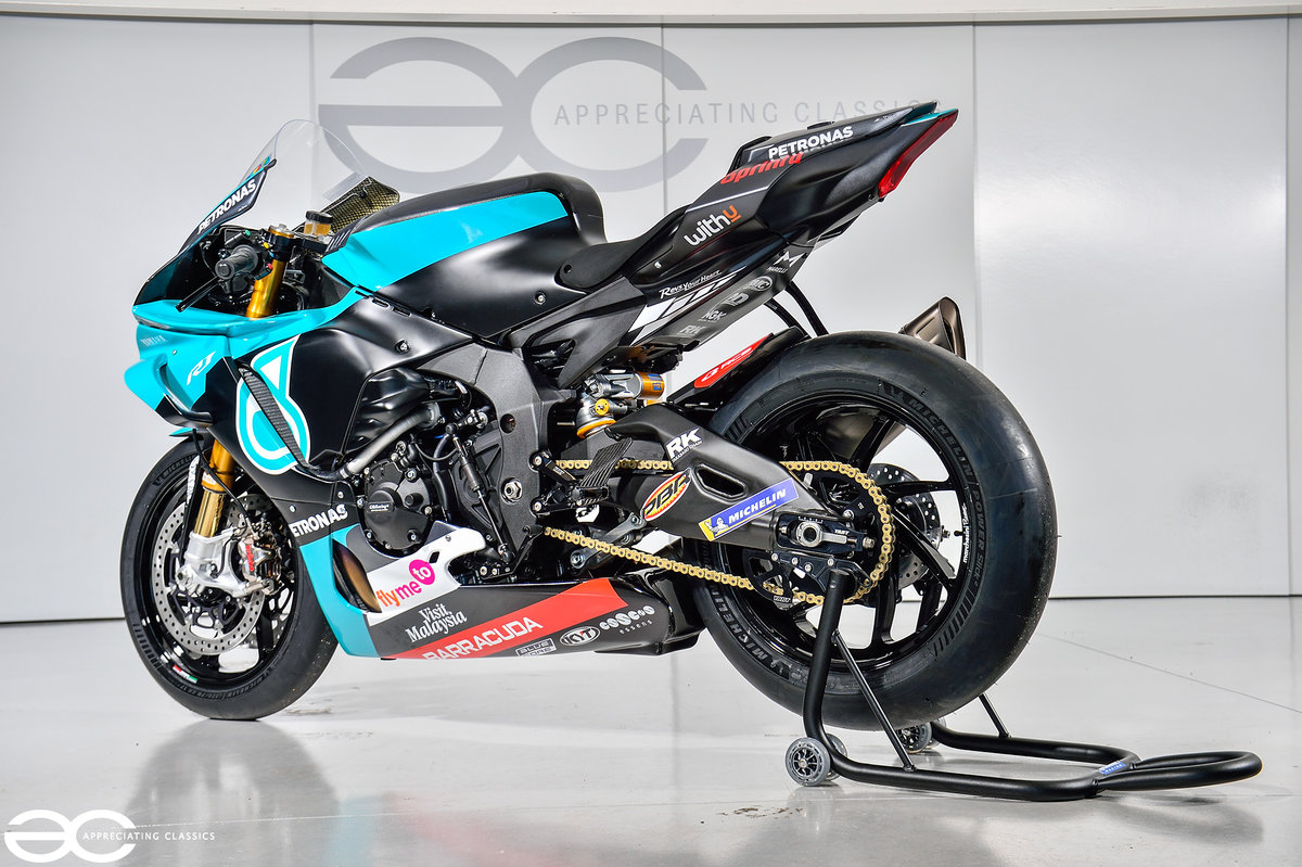 2020 Petronas Yamaha YZF R1 M1 YART GYTR MOTO GP Replica SOLD (picture 3 of 6)