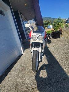 FZR250 gray market bike