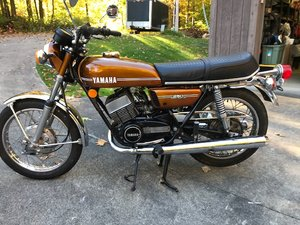 Picture of 1973 Yamaha RD250 For Sale