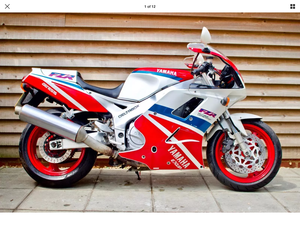 Yamaha fzr1000ru one owner