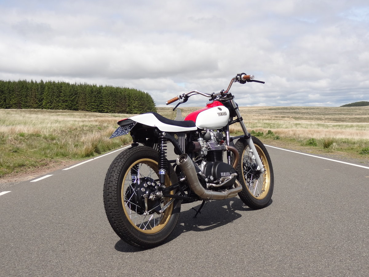 1976 Yamaha XS650 Full custom build Tracker For Sale (picture 1 of 12)