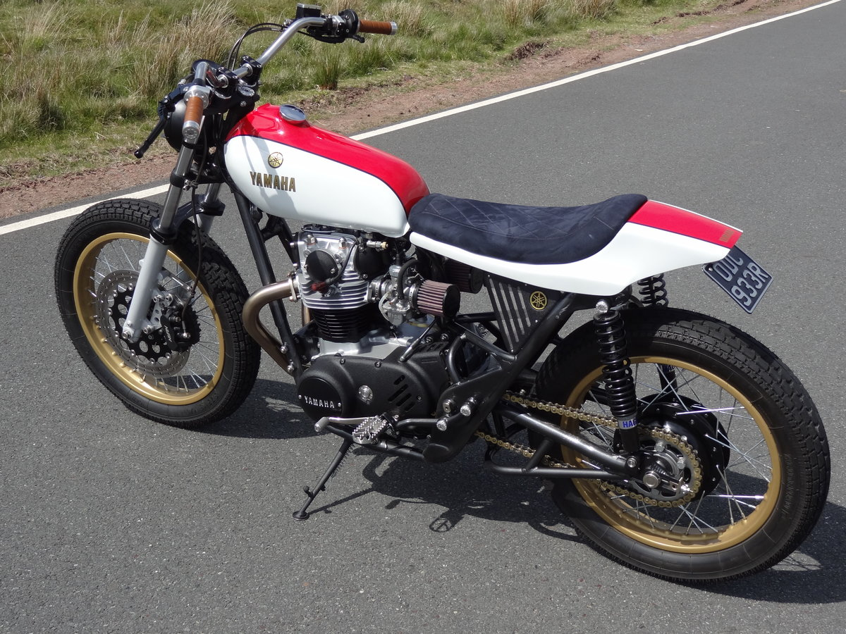 1976 Yamaha XS650 Full custom build Tracker For Sale (picture 2 of 12)