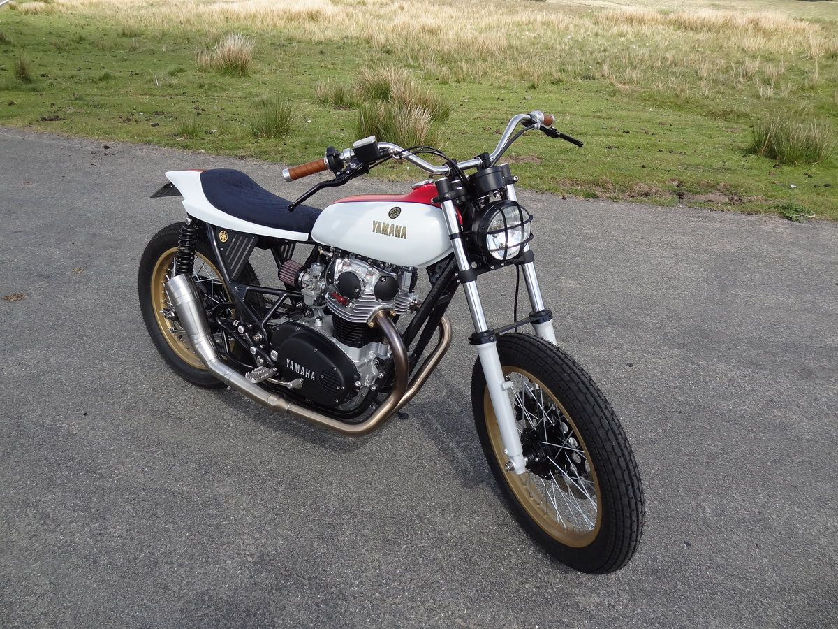 1976 Yamaha XS650 Full custom build Tracker For Sale (picture 4 of 12)