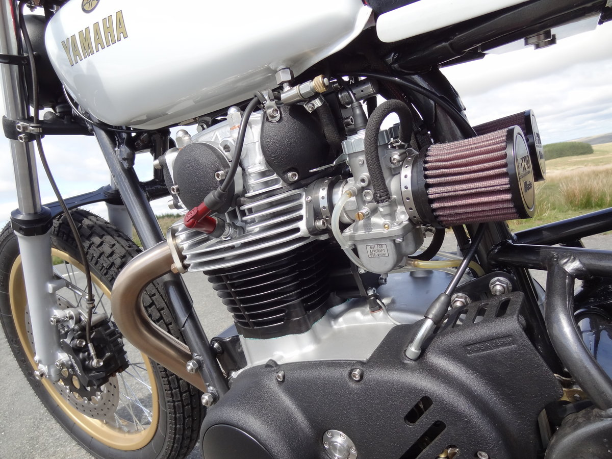 1976 Yamaha XS650 Full custom build Tracker For Sale (picture 5 of 12)