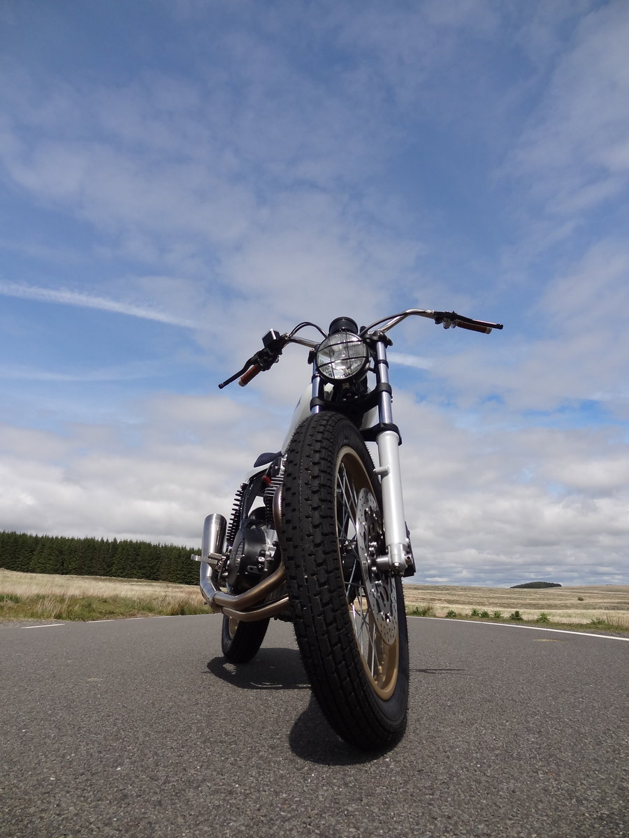 1976 Yamaha XS650 Full custom build Tracker For Sale (picture 6 of 12)