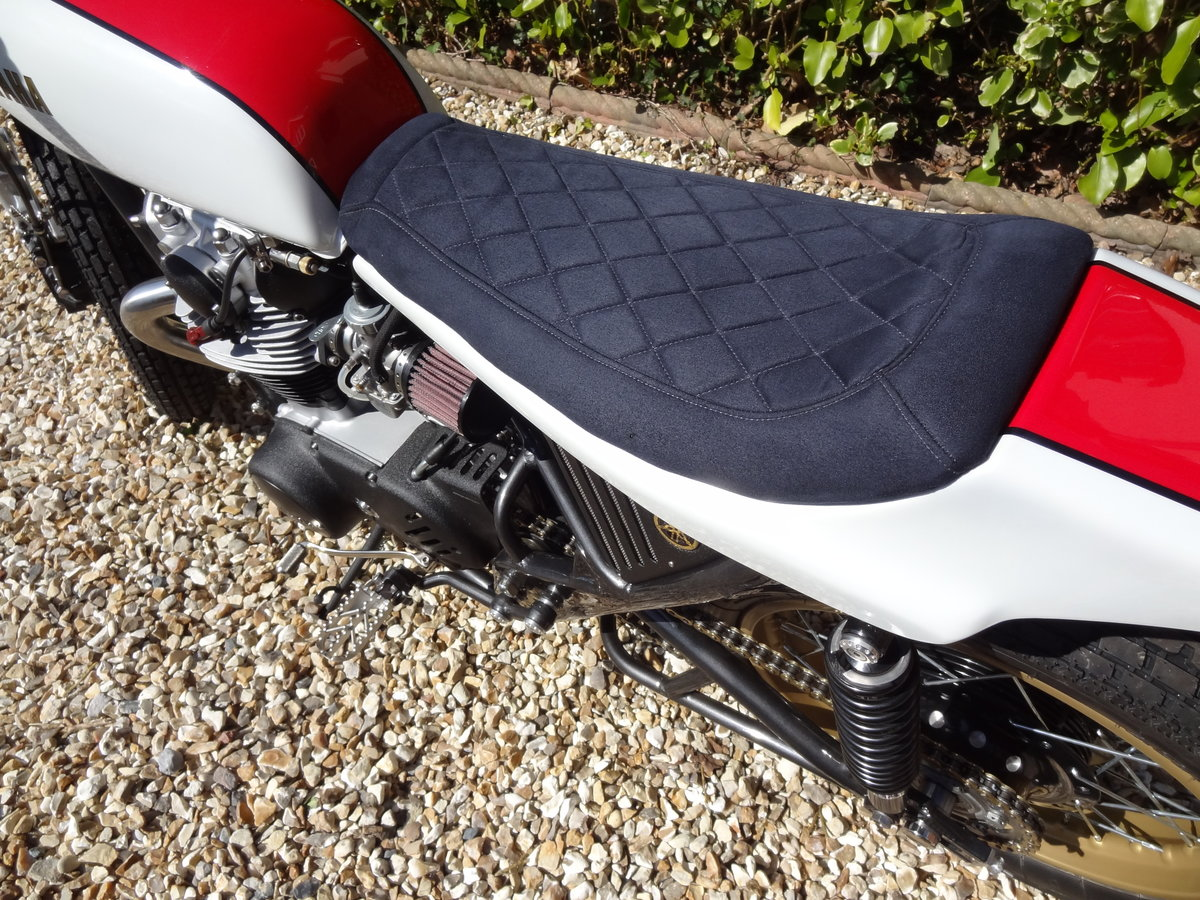 1976 Yamaha XS650 Full custom build Tracker For Sale (picture 10 of 12)