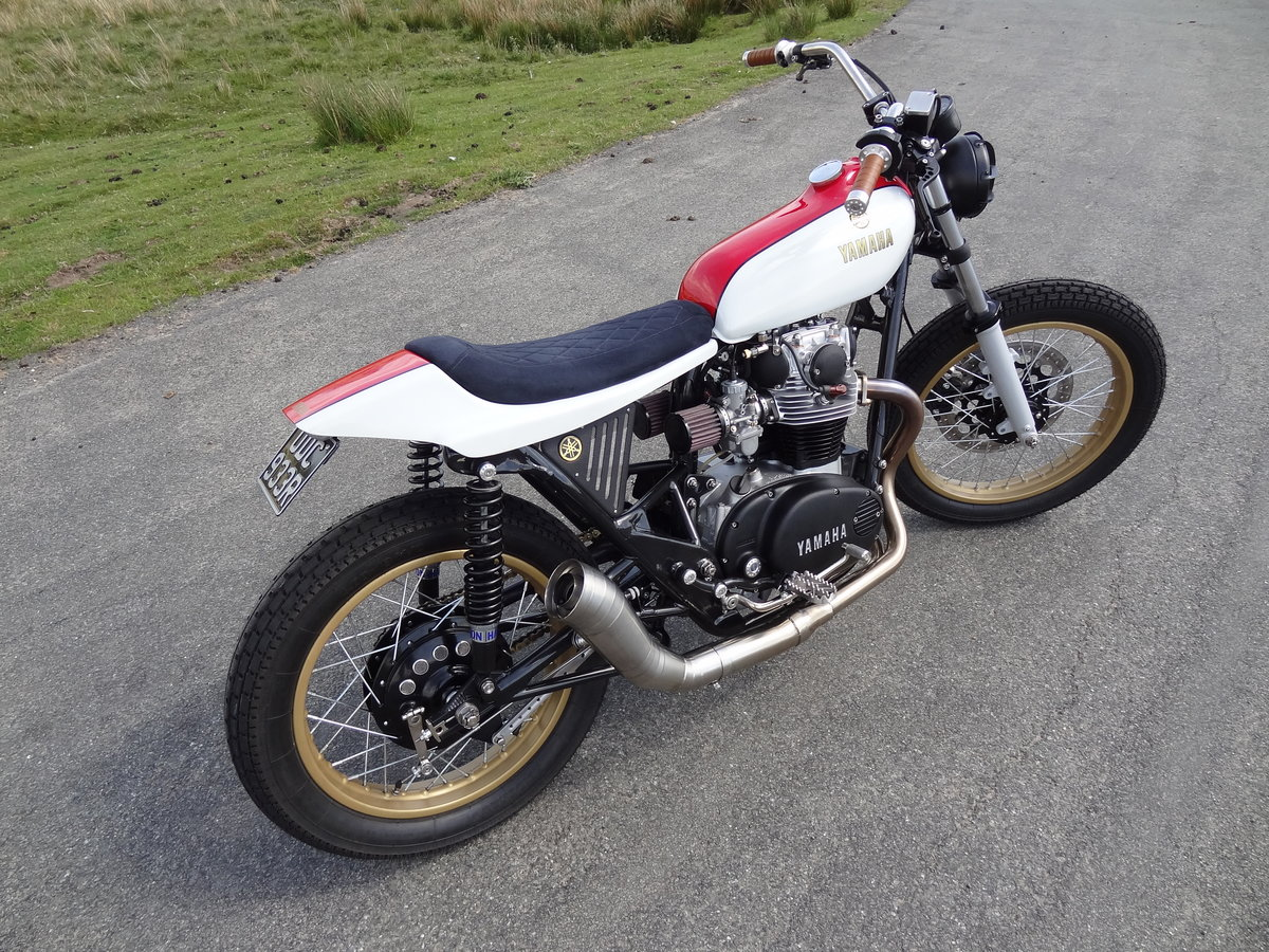 1976 Yamaha XS650 Full custom build Tracker For Sale (picture 11 of 12)