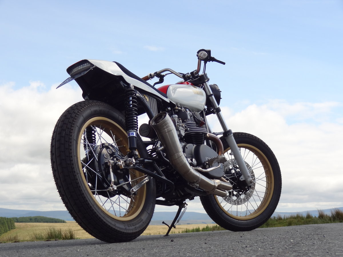 1976 Yamaha XS650 Full custom build Tracker For Sale (picture 12 of 12)
