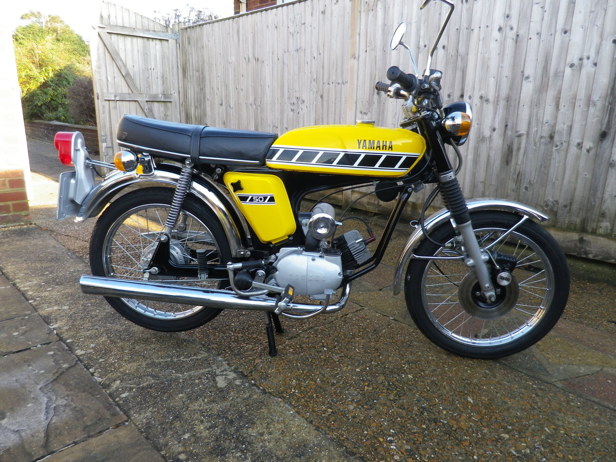 1976 Yamaha FS1E FSIE DX Full restoration For Sale (picture 1 of 12)