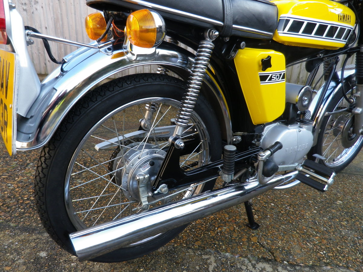 1976 Yamaha FS1E FSIE DX Full restoration For Sale (picture 2 of 12)