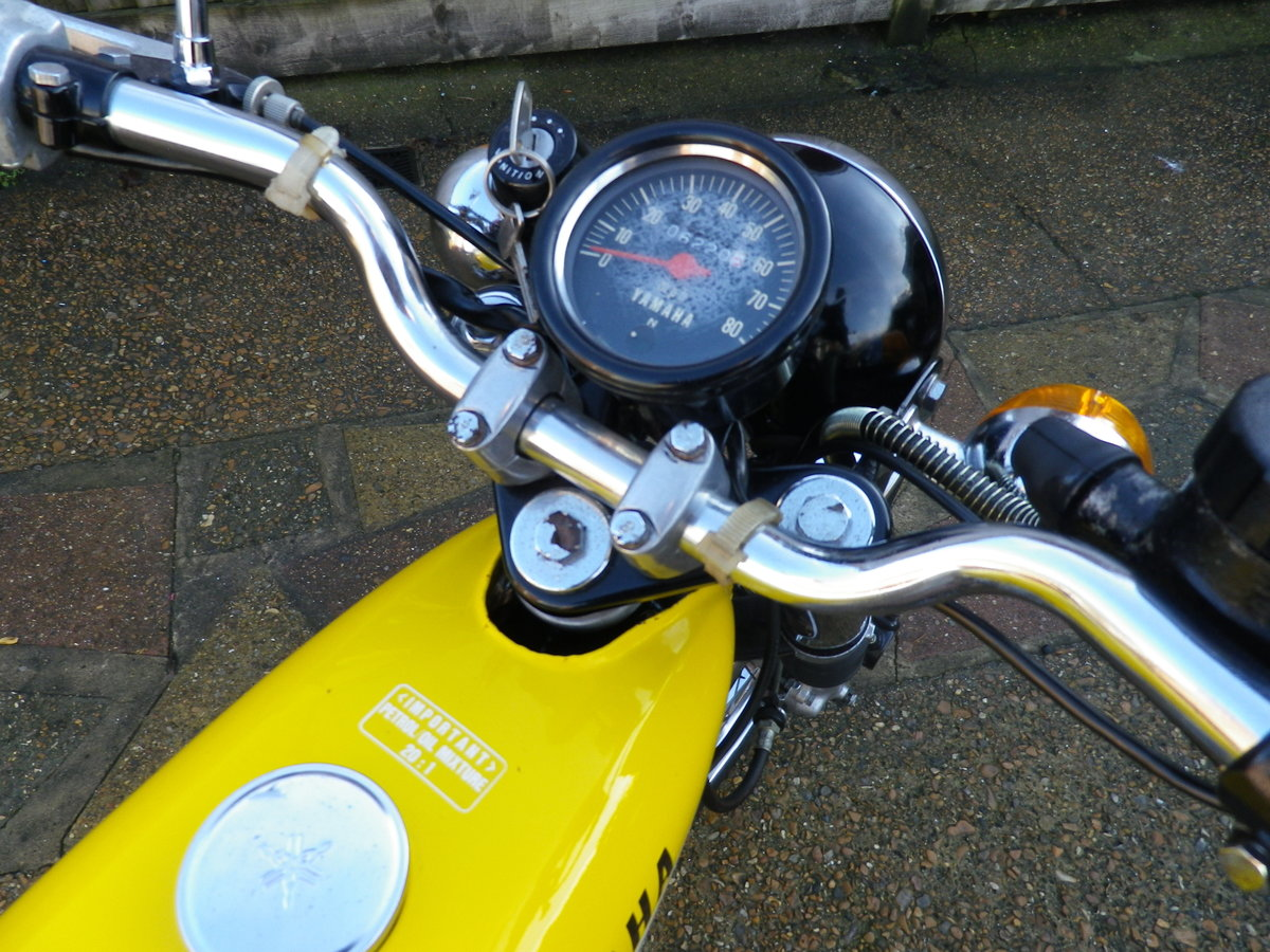 1976 Yamaha FS1E FSIE DX Full restoration For Sale (picture 7 of 12)