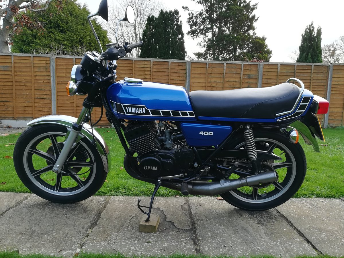 1978 Yamaha RD400 Classic For Sale (picture 2 of 12)