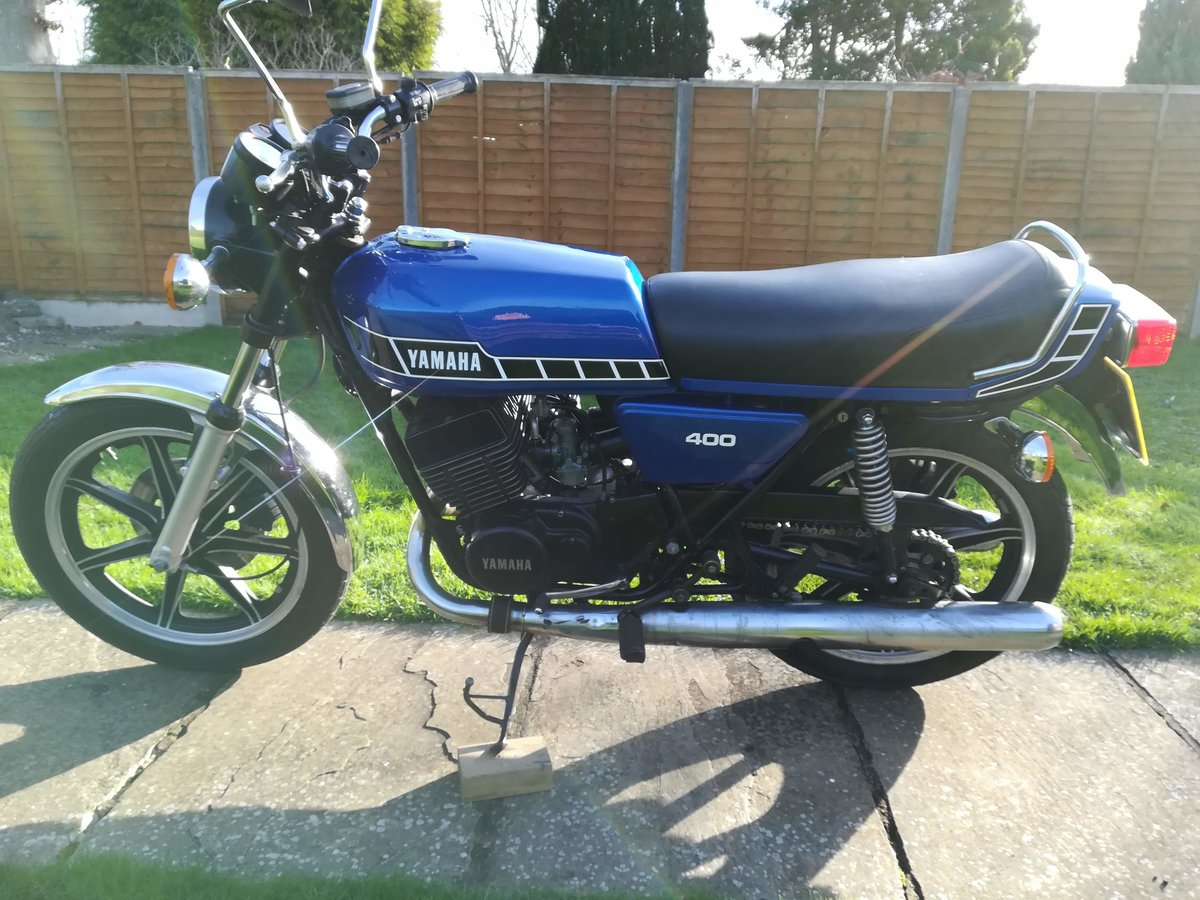 1978 Yamaha RD400 Classic For Sale (picture 3 of 12)