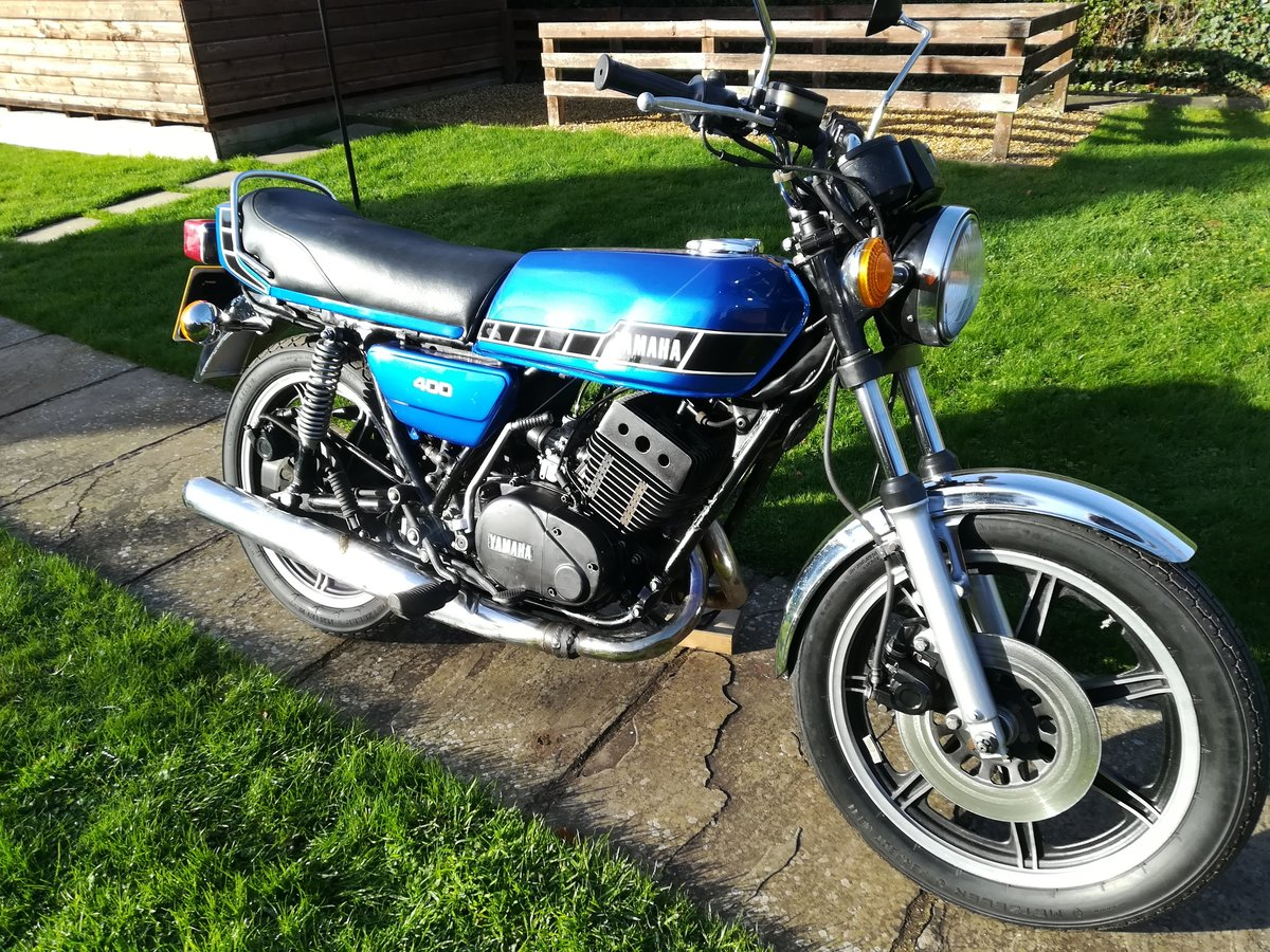 1978 Yamaha RD400 Classic For Sale (picture 4 of 12)