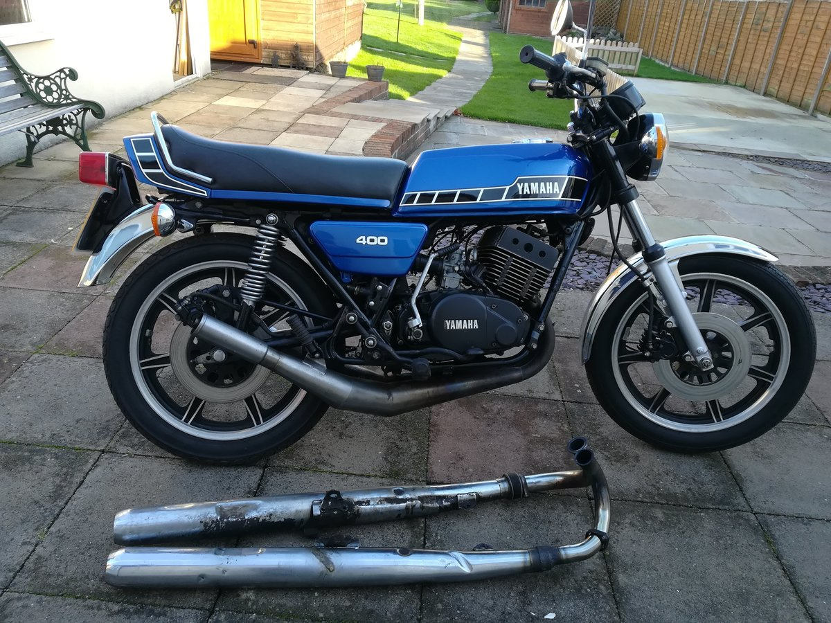 1978 Yamaha RD400 Classic For Sale (picture 9 of 12)