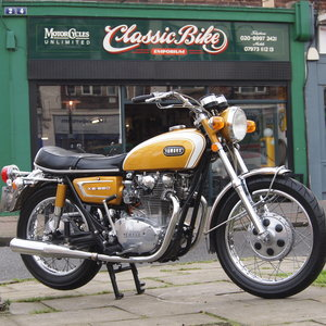 Picture of Rare Early 1971 XS1 650 Yamaha Twin, Largely Original. SOLD
