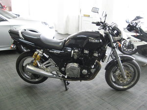 Picture of 1995 N-reg Yamaha XJR1200 classic Muscle bike in black For Sale